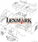 00F5670 LEXMARK UPPER UNIT STOPPER